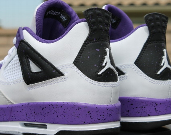 Air Jordan IV GS: Ultraviolet   Release Reminder