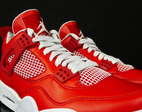 Air Jordan IV: Red/White Sample