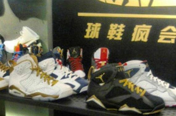 Air Jordan Olympic 2012 Releases
