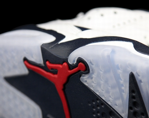 Air Jordan VI: Olympic 2012 Retro   Detailed Look