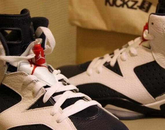 Air Jordan VI: Olympic   New Photos