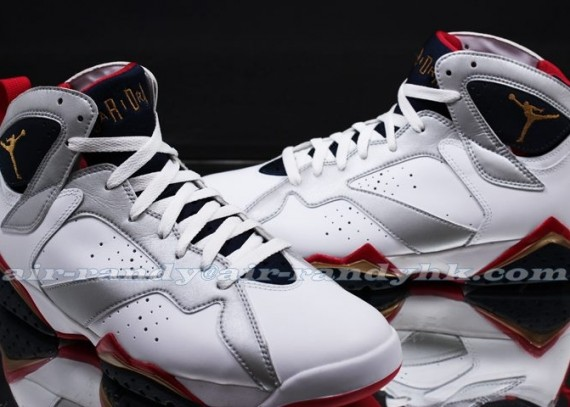 Air Jordan VII: Olympic 2012 Retro   New Photos