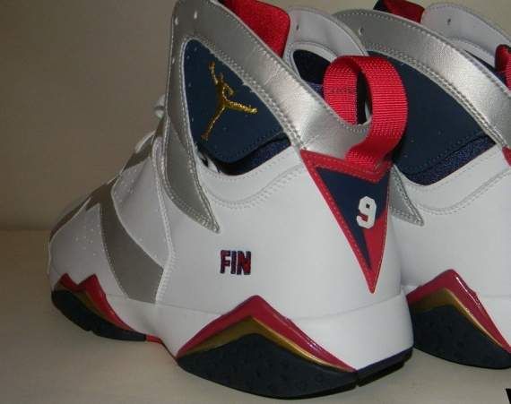 Air Jordan VII: Olympic Michael Finley PE
