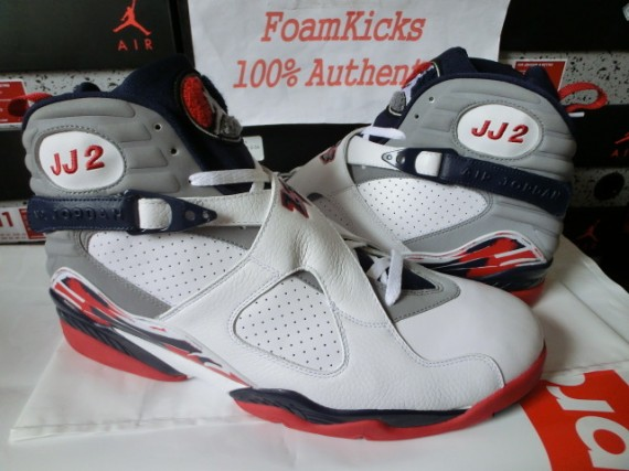 Air Jordan VIII: Joe Johnson Home Player Exclusive