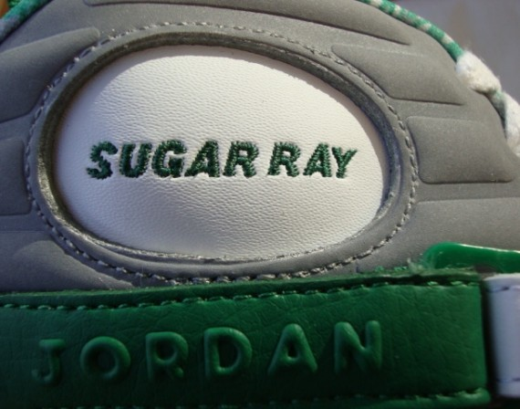 Air Jordan VIII: Ray Allen Boston Celtics Home PE