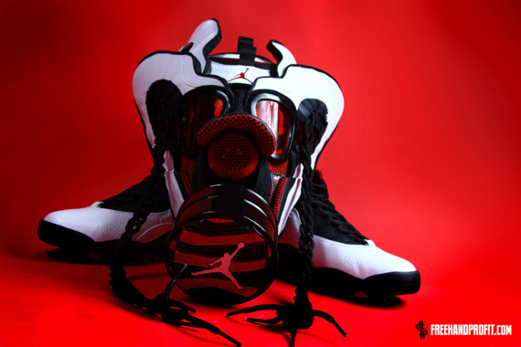 Air Jordan X Chicago Gas Mask