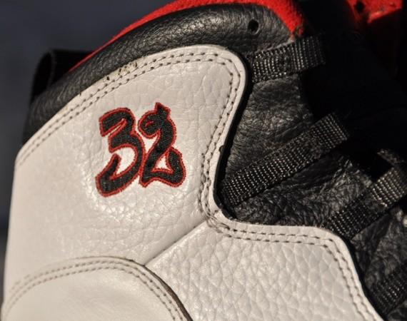 Air Jordan X: OG 32 Autographed Harold Miner PE