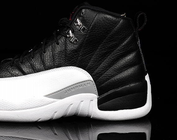 Air Jordan XII: Black   White   True Red