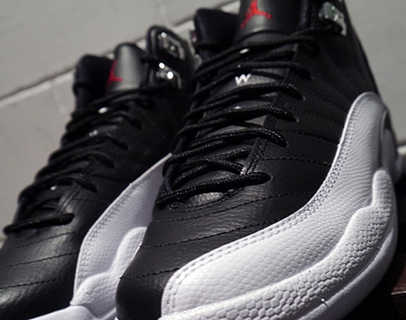Air Jordan XII GS: Playoffs   Available in Asia