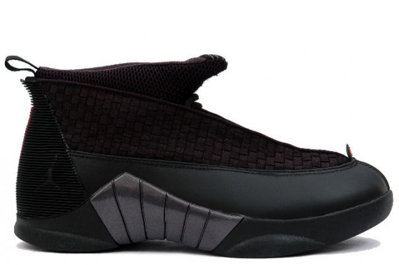 The Daily Jordan: Air Jordan XV   Black   Varsity Red   2007