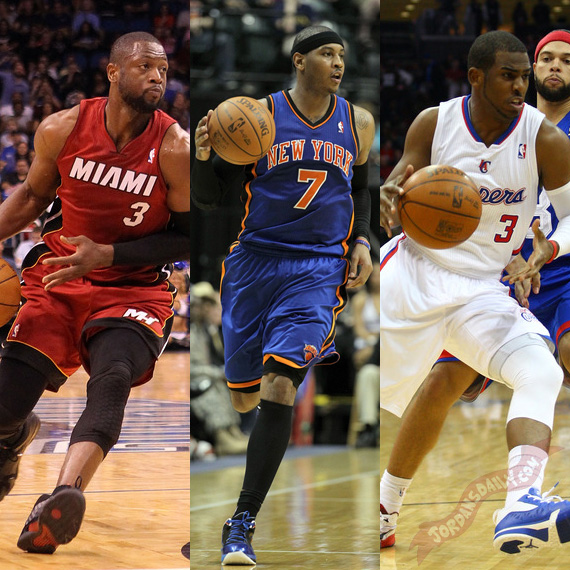 D Wade, Melo, & CP3: Grading Jordan Brands Big Three