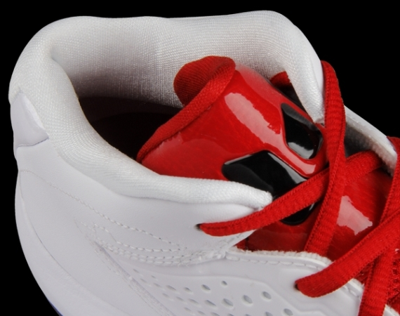 Jordan D'Reign: White – Black – Varsity Red | Another Look