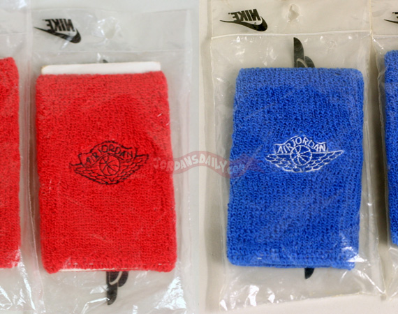Vintage Gear: Air Jordan Wings Sweatbands