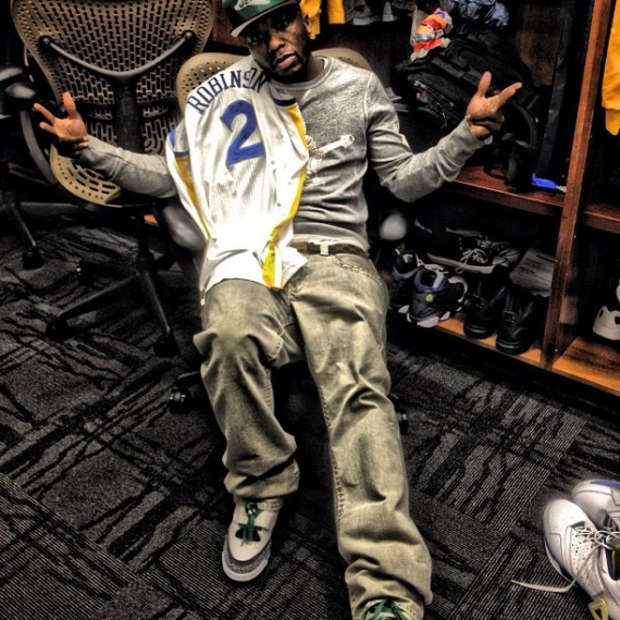Nate Robinson in Jordan Son Of Mars Pop Art
