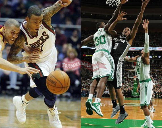 NBA Jordans On Court: April 4th   5th