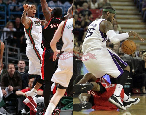 NBA Jordans On Court: Easter 2012 Weekend