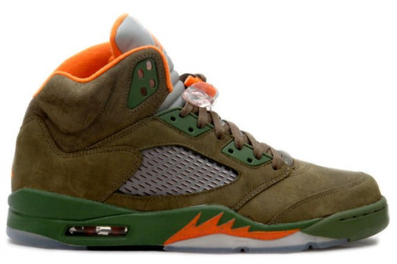 The Daily Jordan: Air Jordan V Olive   2006