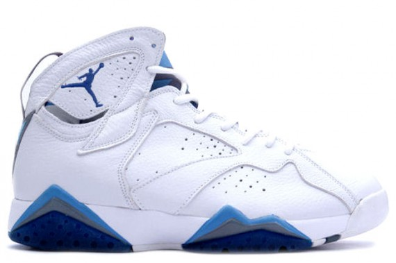 The Daily Jordan: Air Jordan VII   White   French Blue   2002