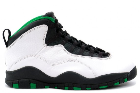 The Daily Jordan: Air Jordan X Seattle City Series   1995