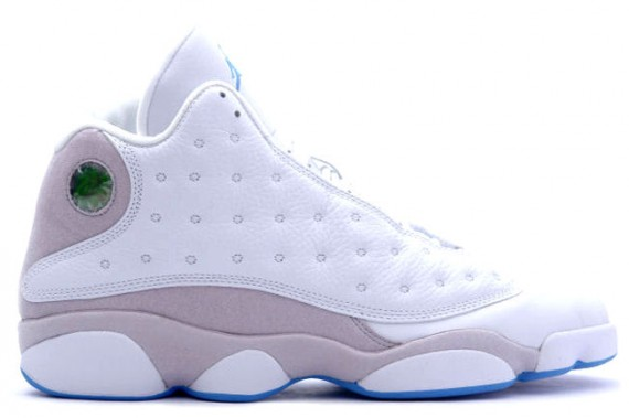 The Daily Jordan: Air Jordan XIII   White   University Blue   2005