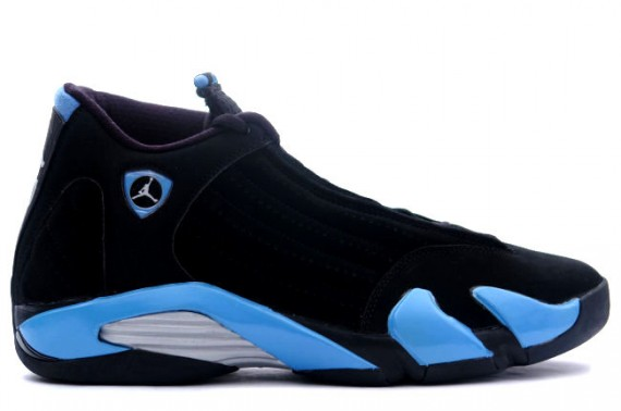 The Daily Jordan: Air Jordan XIV   Black   University Blue   2006