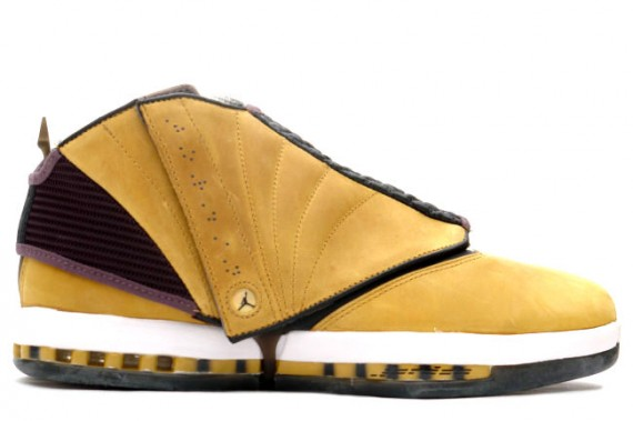The Daily Jordan: Air Jordan XVI   Light Ginger   Dark Charcoal   White   2001