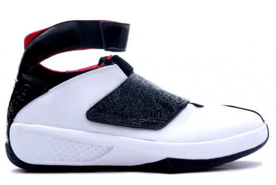 The Daily Jordan: Air Jordan XX   White   Varsity Red   2005