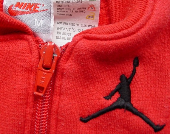 Vintage Gear: Air Jordan Infant Fleece Warm Up