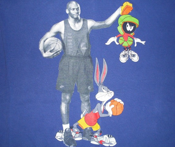 Vintage Gear: Air Jordan VIII Looney Toons T Shirt