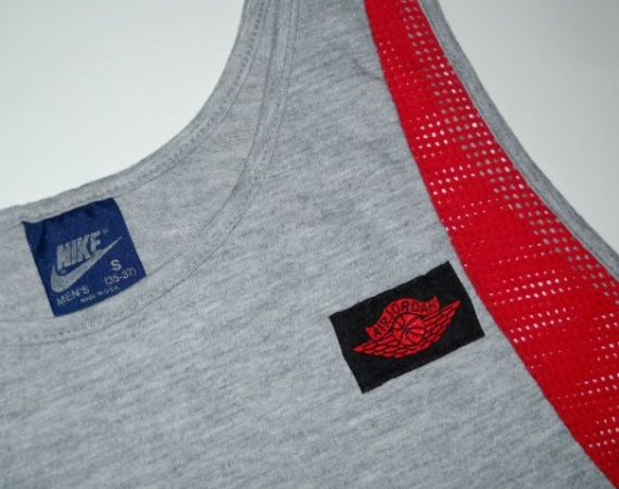 Vintage Gear: Air Jordan Wings Tank Top