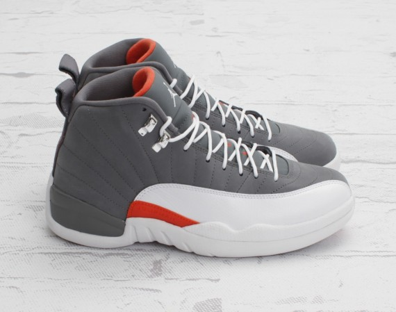 Air Jordan 12: Cool Grey   New Photos