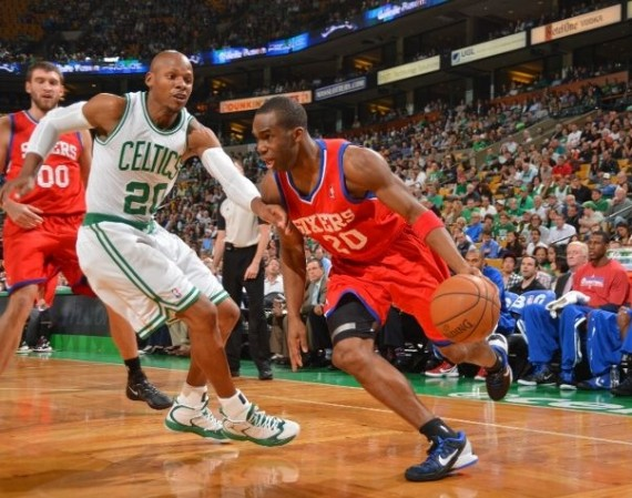 NBA Jordans on Court: Ray Allen   Air Jordan 2012 PE