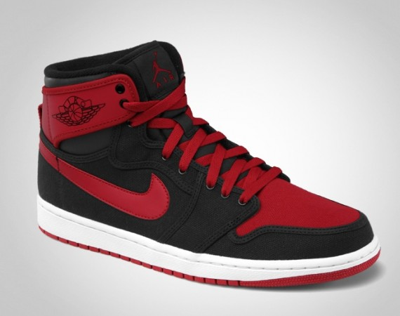 Air Jordan AJKO: Black   Varsity Red   White