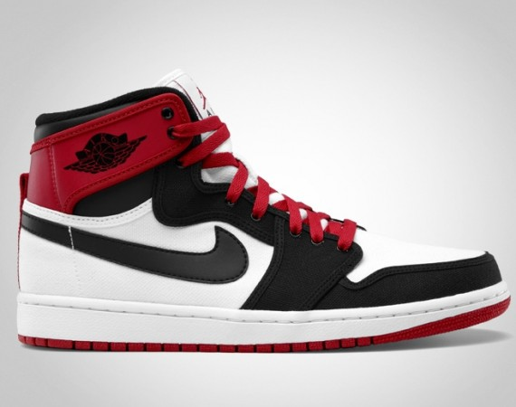 Air Jordan AJKO: White   Black   Varsity Red