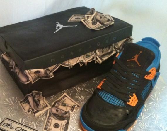 Air Jordan IV: Cavs   Sneaker Cake