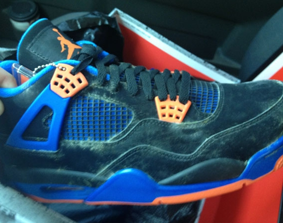 Air Jordan IV Cavs: The Mold