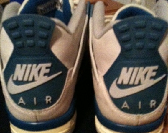 Air Jordan IV: Military 1989 OG   Sample