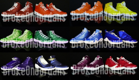 Air Jordan Rainbow Pack