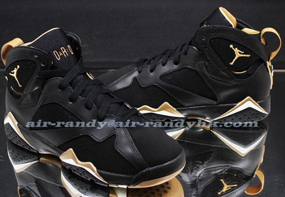 Air Jordan 7 GS: 'Golden Moments' – New Images