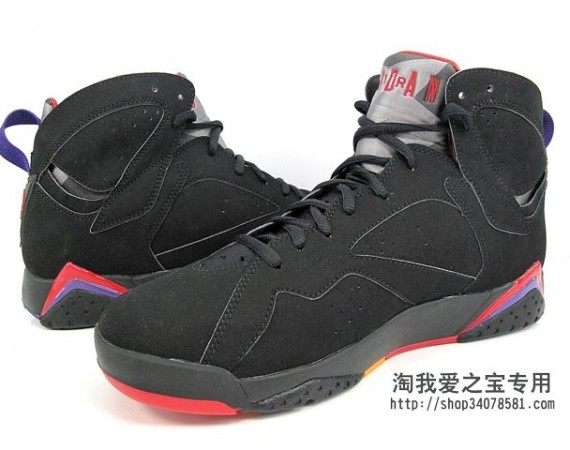 Air Jordan VII: Raptors   New Photos