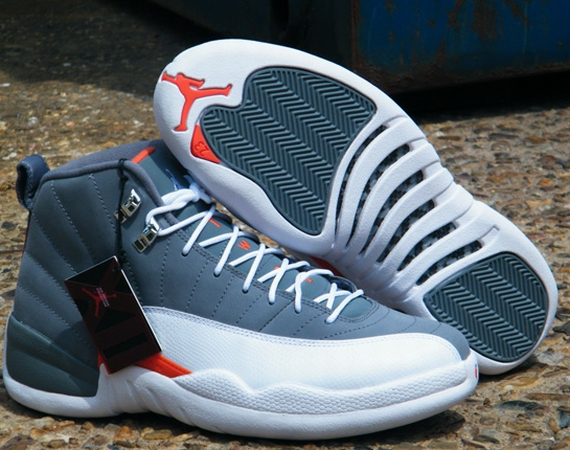 Air Jordan XII: Cool Grey   Arriving in Stores
