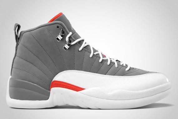 Air Jordan XII: Cool Grey   Official Images