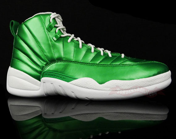 Air Jordan XII: Metallic Green Sample