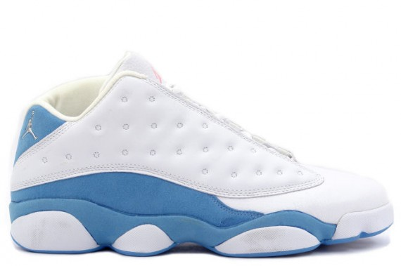 The Daily Jordan: Air Jordan XIII Low WMNS   White   University Blue   2005