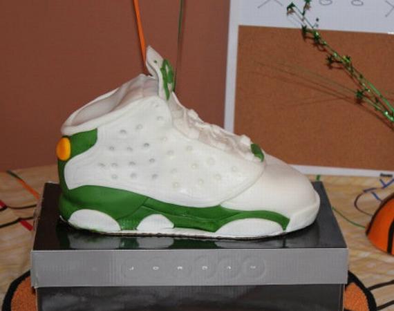 Air Jordan XIII: Ray Allen PE – Sneaker Cake