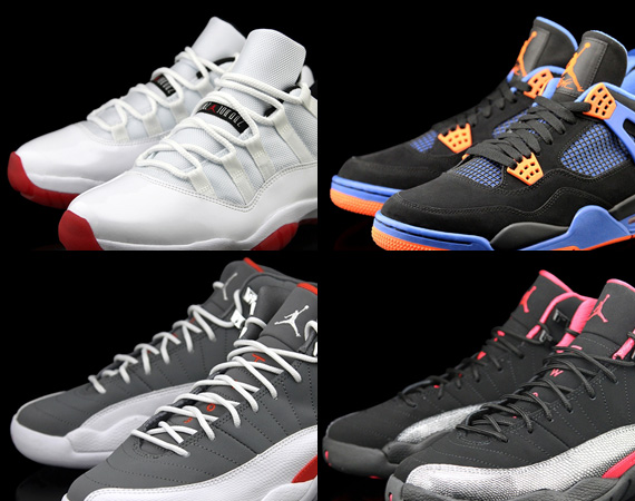 Air Jordans Releasing In May 2012