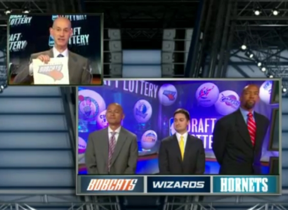 Charlotte Bobcats Get 2nd Pick in 2012 NBA Draft