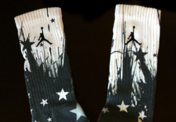 Dave White x Nike Elite Custom Socks
