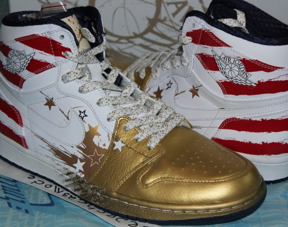 Dave White x Air Jordan 1: Original Auction Edition on eBay