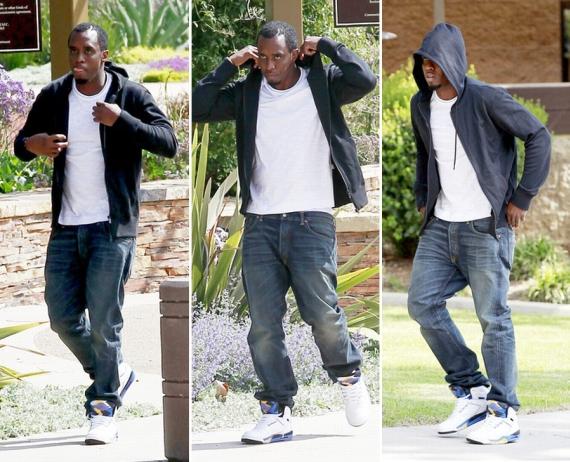 P. Diddy Wears Air Jordan 60+ Laney